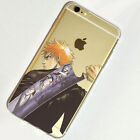 Bleach Ichigo Anime Game iPhone 4s 5 SE 6s 7 Plus Case TPU Silicone Free Ship #8
