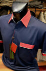 Gabicci Classic Jersey Polo Shirt (Sizes: Medium) In Navy Blue 35X02