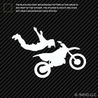Freestyle Motorcross Superman Sticker Die Cut Decal freestyle extreme stunting