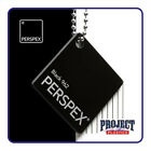 BLACK PERSPEX ACRYLIC 210mmX 297mm A4 SIZE SHEET  3mm  5mm 10mm thick