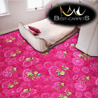 CHILDREN'S CARPET 'MAYA THE BEE' pink Disney Kids Bedroom, Fun Rug, ANY SIZE