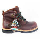 LeHigh Men's Brown 6″ Lacer Waterproof Steel Toe Work Boot 5040WPL