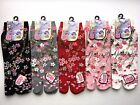 Nagomi SAKURA Flowers Japanese Split Toe Tabi Socks (Small) Womens Sz 6-9