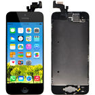 For iPhone 5 5S LCD Touch Glass Lens Screen Digitizer Assembly Replacement