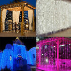 curtain light - 1800 LED Fairy Curtain String light for Xmas Christmas Wedding Party Connectable