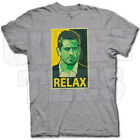 AARON RODGERS RELAX CAMPAIGN POSTER GREEN BAY PACKERS FAN T SHIRT