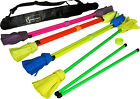 NEO FLOWER STICK SET- Incl Handsticks + Bag - Pro Flower, Devilsticks, Juggling