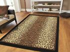 Kyпить  Jungle Cheetah Rug 8x11 Black Brown Beige Animal Carpet 5x7 Floor Rugs Leopard  на еВаy.соm