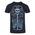 Pierce The Veil Skeleton Coffin Black T Shirt - Official Band Merch