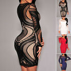 Women's Sexy Mermaid Style Mini Short Dress Evening Party Casual Beach Dress New
