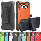 Outer Box Hybrid Belt Clip Holster Stand Case Cover for Samsung Galaxy J7 2015