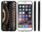 Vintage Black Typewriter Hard Rubber Phone Case for iPhone, iPod,Galaxy, Note