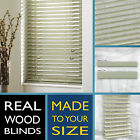 Wood venetian wooden blinds - APPLE WASH GREY - 2 Year guarantee - Style Express