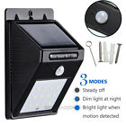 8-16 LED Solar Power Motion Sensor Outdoor Waterproof Garden Security Lamp Light