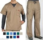 Внешний вид - Dickies Mens Scrubs Gen Flex  Set Top 81722 Pants 81003 Choose Color & Sizes NWT