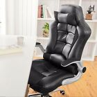 Life Carver Gaming Chair Racing Office Swivel PU Computer Office Desk Chairs Red