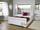Milan Upholstered Bed Frame storage 3' Single 4'6 Double 5' King size