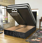 Divan Ottoman END GAS Lift Storage Bed Single 4'6 Double 5ft King Size