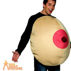 Adult Giant Boob Costume Unisex Novelty Rude Fancy Dress Outfit New