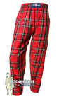 DONNELLI'S - MEN'S CASUAL SCOTTISH TARTAN CASUAL PANTS - STEWART ROYAL