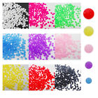 NO02 500 Pcs, 5000 Pcs Craft Beads Nail Art Dry Tool Noctilucent Resin Stone-3mm