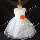 #NLO6 Baby Infant Girls Christening Birthday Party Night Evening Prom Dress Gown