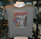"""Spider-man """"Catch of the day""""Junk Food Adult Ladies Shirt Marvel Comic Avengers"""