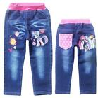 Childs Costume Cartoon Pants My Little Pony Jeans Kids Toddlers Girls Trouser
