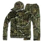 Men Outdoor Sports Summer Hunting Suit Clothing Camo Fishing Tshirt & Trousers