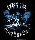 AVENGED SEVENFOLD T-Shirt A7X Nightmare metal rock Official S NWT