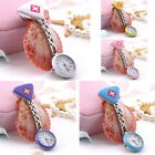New Cute Pendant Butterfly Nurse Clip-on Brooch Quartz Hanging Pocket Watch LC~