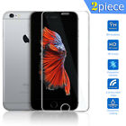2pcs Premium Tempered Real Glass Screen Guard For iPhone 5 5S 5C SE 6 6S+ Plus