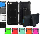 Outer Box Belt Clip Kick Stand Case Cover for iPhone 5/5S 6/6S & iPhone 6S Plus
