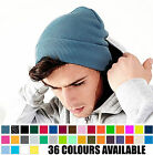 Plain Knitted Beanie Hat | Original Cuffed Turn-Up Style | Unisex | 36 Colours