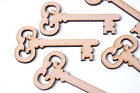 Wooden Mdf Key Shapes Santa's Magic Keys 21st Keys Christmas Craft Christmas Eve