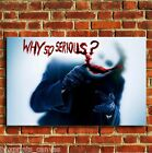 JOKER BATMAN MOVIE FILM CANVAS PRINT WALL POP ART PICTURE SMALL MEDIUM LARGE
