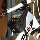 Waterproof Cycling Bike Bicycle Frame Pannier Phone Bag  5.5 Inch For Phone 6S