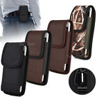 Vertical Tubby Duty Canvas Belt Clip Case Cover Pouch Holder for Samsung iPhone