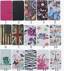 Card Slot Holder PU Leather Flip Wallet Case Stand Cover Butterfly For LG K4