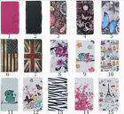 Card Slot Holder PU Leather Flip Wallet Case Cover Butterfly For HTC Desire 526G