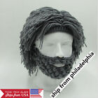 Knitting Beard Beanie Mustache Mask Face Warmer Ski Bike Winter Outdoor Hat Cap