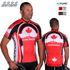 SPEG Canada Canadian Mens Short Sleeve Cycling Jersey Full Zipper - SECONDS