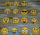 Emoji Patch - Sew On Patch - Iron On Patch - Smiley Face - LOL - ROFL - Love