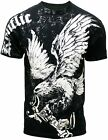 NWT Men's Soaring Giant Eagle Graphic Designer MMA T-shirt 779BK