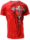 Konflic Men's Cross Graphic Tee Extra Large Shirt  764-RD