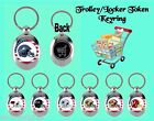 AMERICAN FOOTBALL METAL KEYRING/TROLLEY COIN LOCKER GYM TOKEN GIFT MUM DAD SIS
