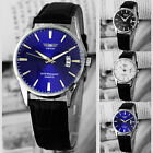 Quartz Leather Luxury Calendar Men's Business Date Dress Fashion Outdoor Watch