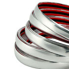 Silver Chrome Car Styling Tuning Moulding Strip Trim Self Adhesive Tape 6 - 55mm