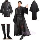 Star Wars Episode Darth Vader Anakin Adult Cosplay Costume Black Combat Suit $79.99 USD on eBay
