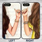 best phone cases for iphone 5 - BFF Best Friends Hot Girl Phone Case Cover for iPhone 7 8 6S 6 Plus 5S 5C SE X